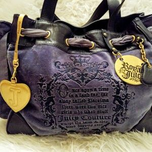 Juicy Couture velour Once Upon a Time purse